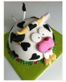Детский торт Буренка