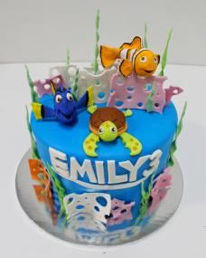 Детский торт Приключения Немо