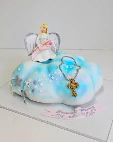 Детский торт Ангелочек в облаке