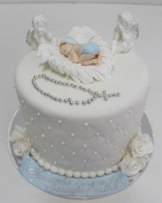 Детский торт Ангелочки 1
