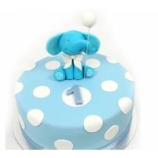 Детский торт Слоненок с шариком