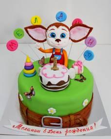 Детский торт Барбоскины Малыш
