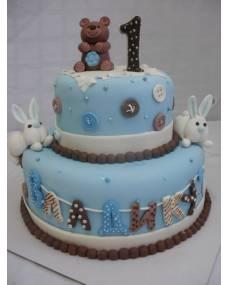 Детский торт Медвежонок
