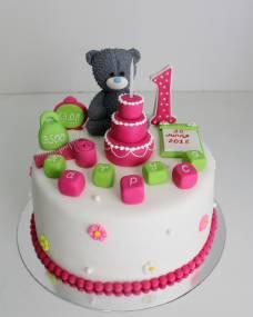 Детский торт Медвежонок тортик