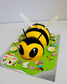 Детский торт Пчелка