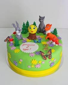 Детский торт Колобок