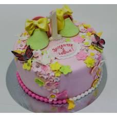 Детский торт Пинетки в цветочках