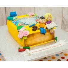 Детский торт Букварик