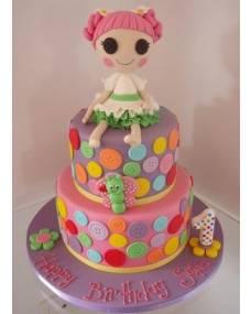 Детский торт Пуговка