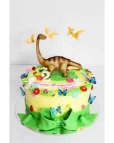 Детский торт Веселый динозаврик