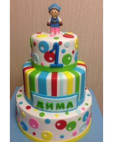 Детский торт веселый малыш