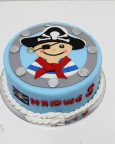 Детский торт Веселый пиратик