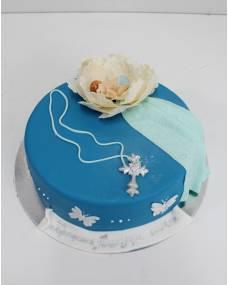 Детский торт Крестины 9