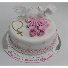 Детский торт Крестины 4