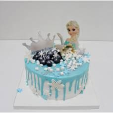 Детский торт Холодное сердце 8