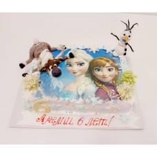 Детский торт Холодное сердце 1