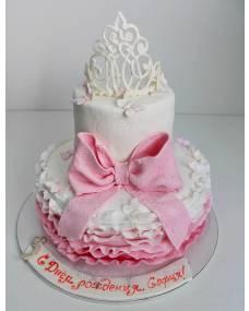 Детский торт Корона принцессы