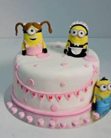 Детский торт Крошки миньоны