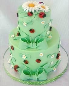 Детский торт Ромашки-букашки