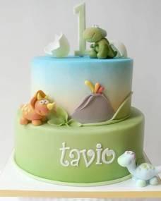 Детский торт Дракоши