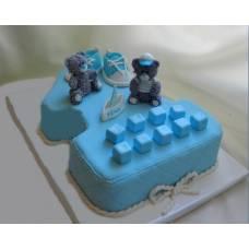 Детский торт Единичка 2