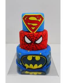 Детский торт Супергерои