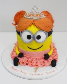 Детский торт Миньон-принцесса