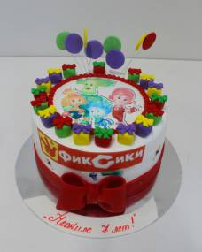 Детский торт Фототорт Фиксики 3