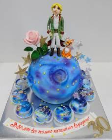 Детский торт Маленький принц