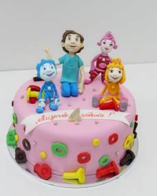 Детский торт Фиксики и Димыч