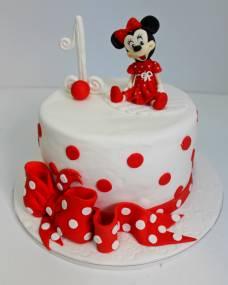 Детский торт Шляпка Минни