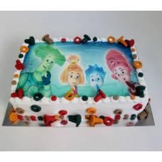 Детский торт Фототорт Фиксики
