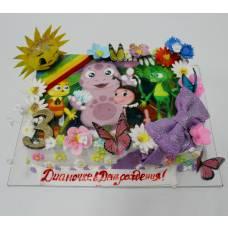 Детский торт Фототорт Лунтик