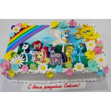 Детский торт Фототорт Пони