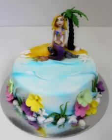 Детский торт Ариель
