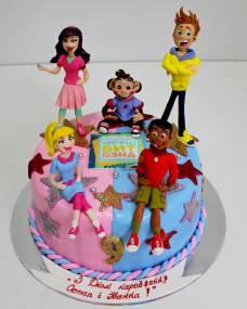 Детский торт Фреш Бит Бенд