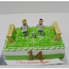 Детский торт Веселый футбол