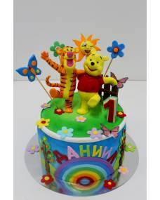 Детский торт Веселые друзья