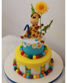 Детский торт Жираф