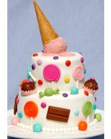 Детский торт Лакомка