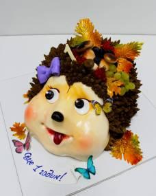 Детский торт Ежик
