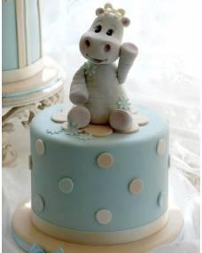 Детский торт Бегемотик