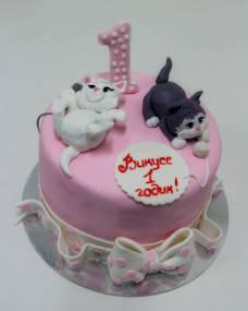 Детский торт Котята-шалунишки