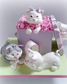 Детский торт Кошечки