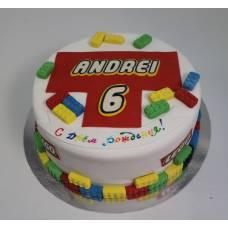 Детский торт Лего 2