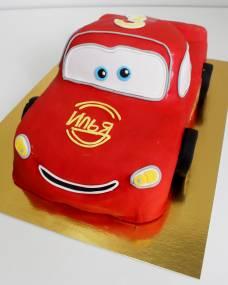 Детский торт Молния Маквин