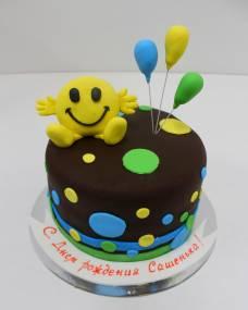 Детский торт Смайлик