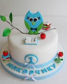 Детский торт Маленький совенок