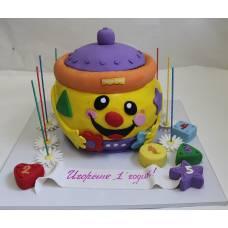 Детский торт Волшебный горшочек