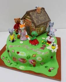Детский торт Теремок